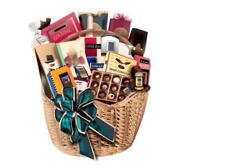 Gift basket illustration